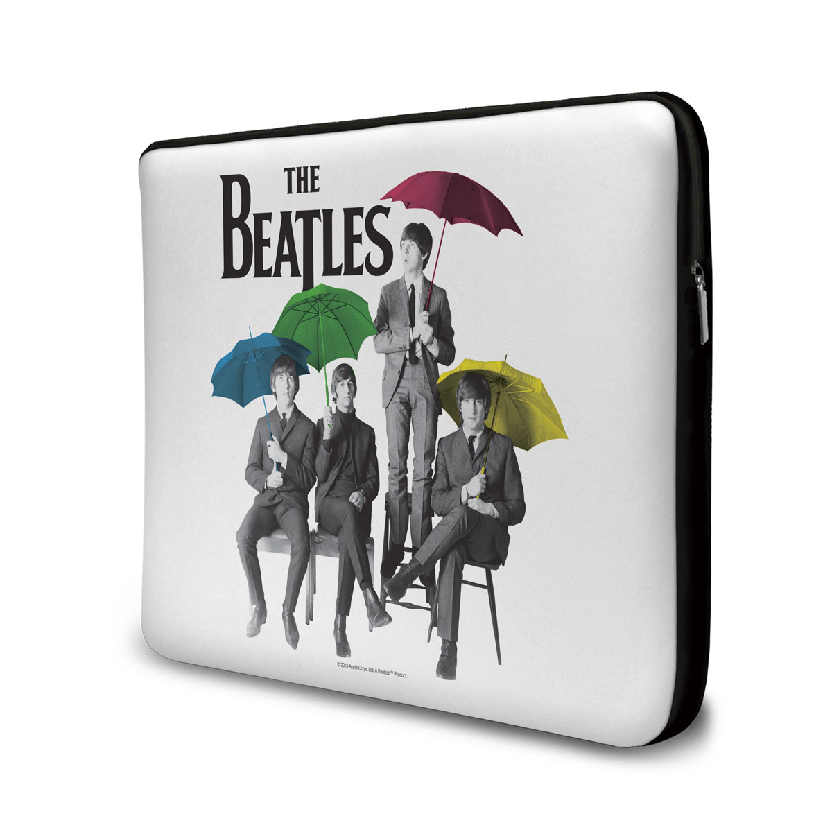 Capa Para Notebook The Beatles Umbrella Colors