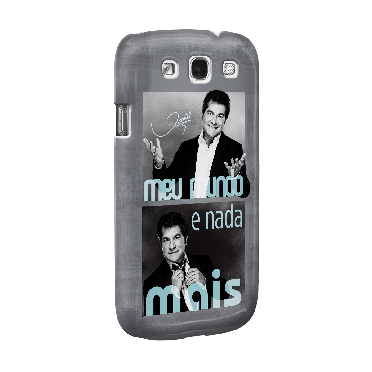 Capa Para Samsung Galaxy S3 Daniel Meu Mundo Poses