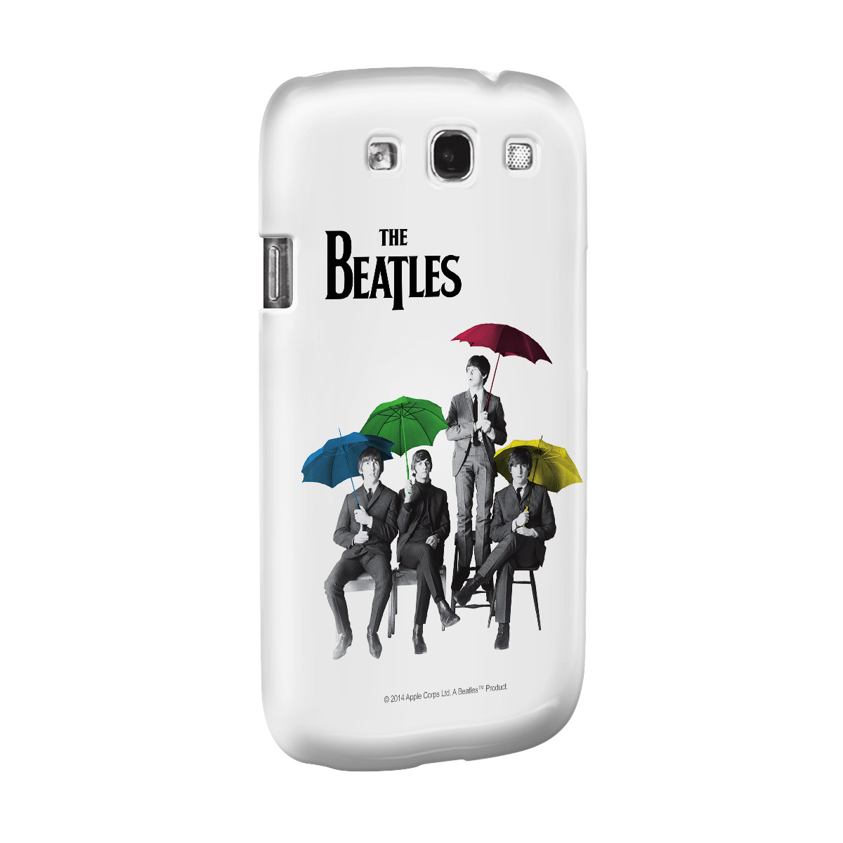 Capa para Samsung Galaxy S3 The Beatles Umbrella Colors