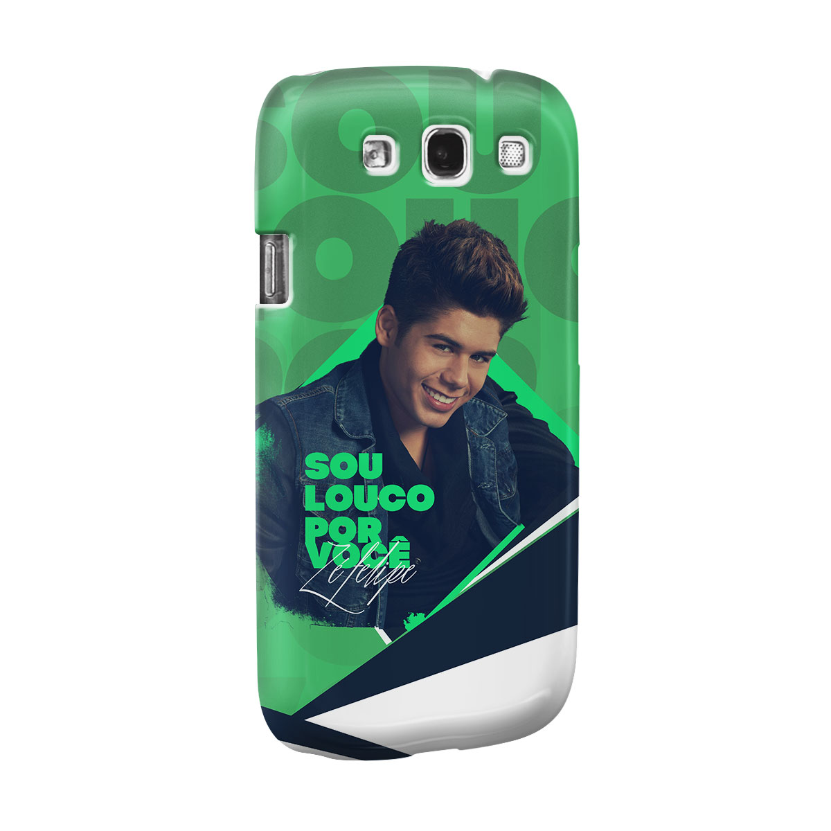 Capa para Samsung Galaxy S3 Zé Felipe Louco Por Você Foto