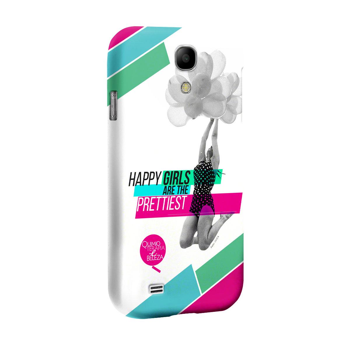 Capa para Samsung Galaxy S4 QeB Happy Girls