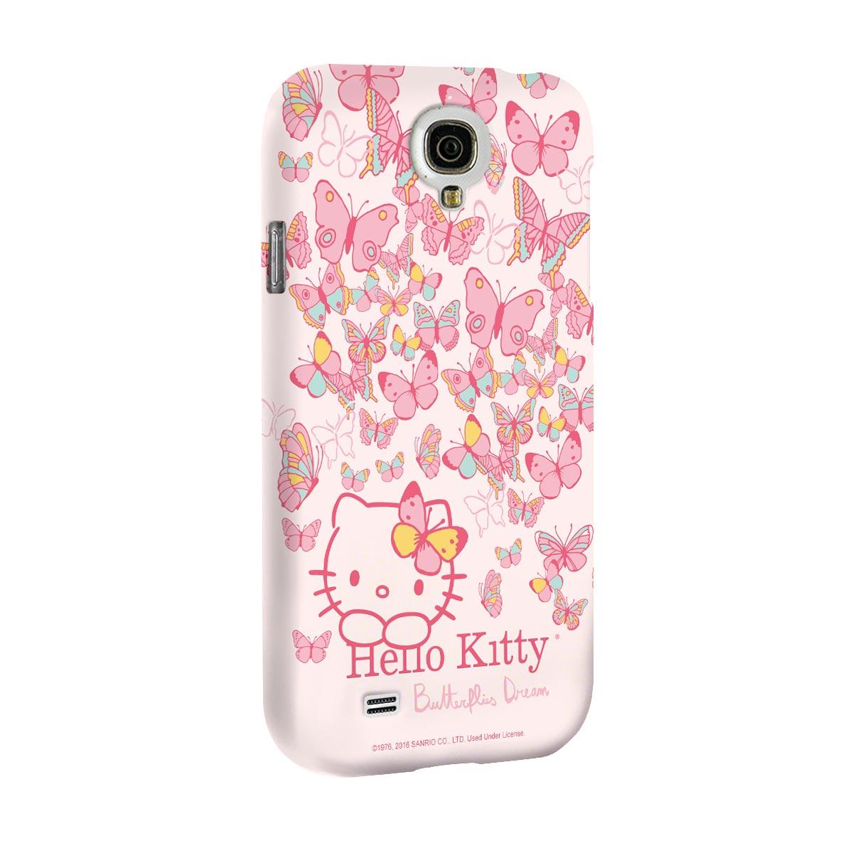 Capa para Samsung Galaxy S4 Hello Kitty Butterflies Dream