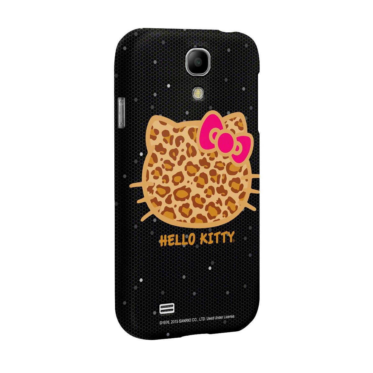 Capa para Samsung Galaxy S4 Hello Kitty Print Fuzzy