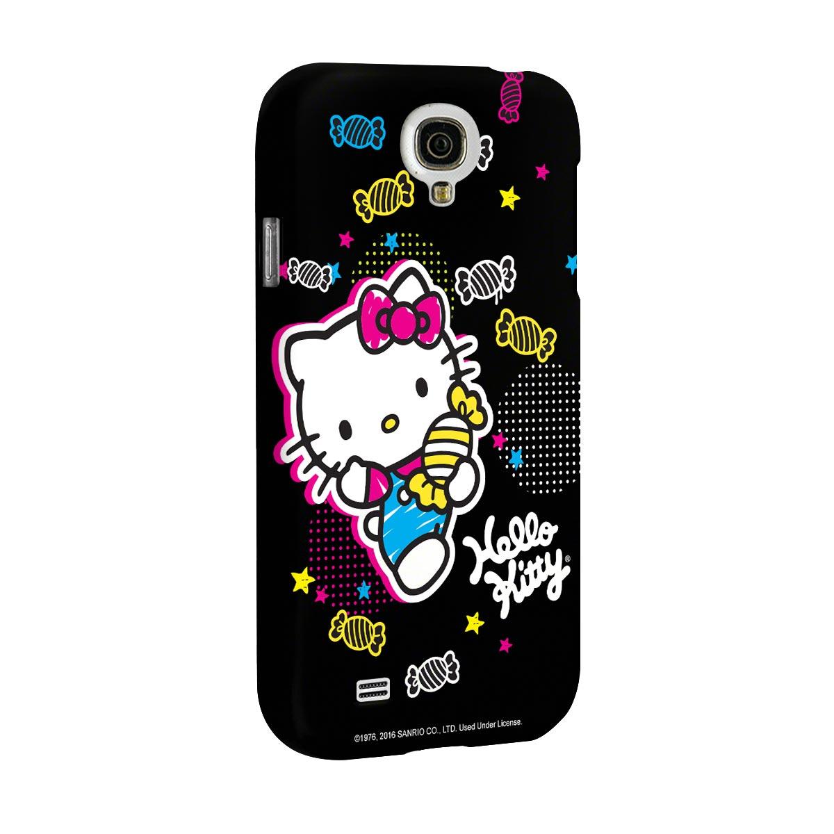 Capa para Samsung Galaxy S4 Hello Kitty Ready for Action