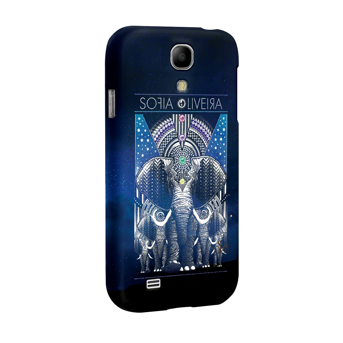 Capa para Samsung Galaxy S4 Sofia Oliveira Elephant
