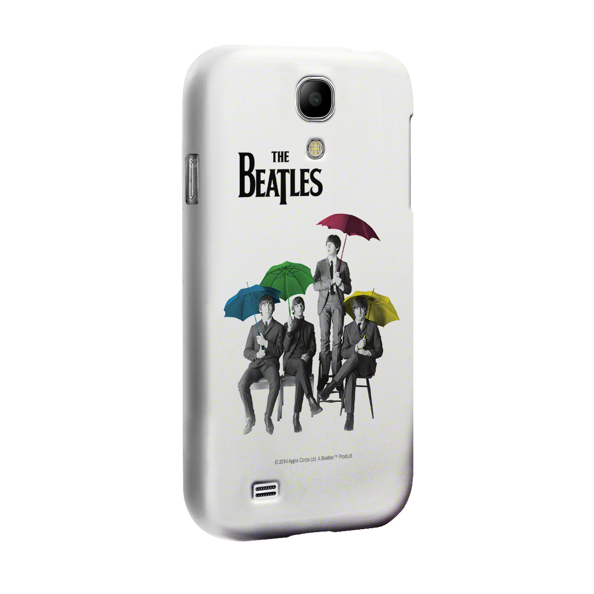 Capa para Samsung Galaxy S4 The Beatles Umbrella Colors