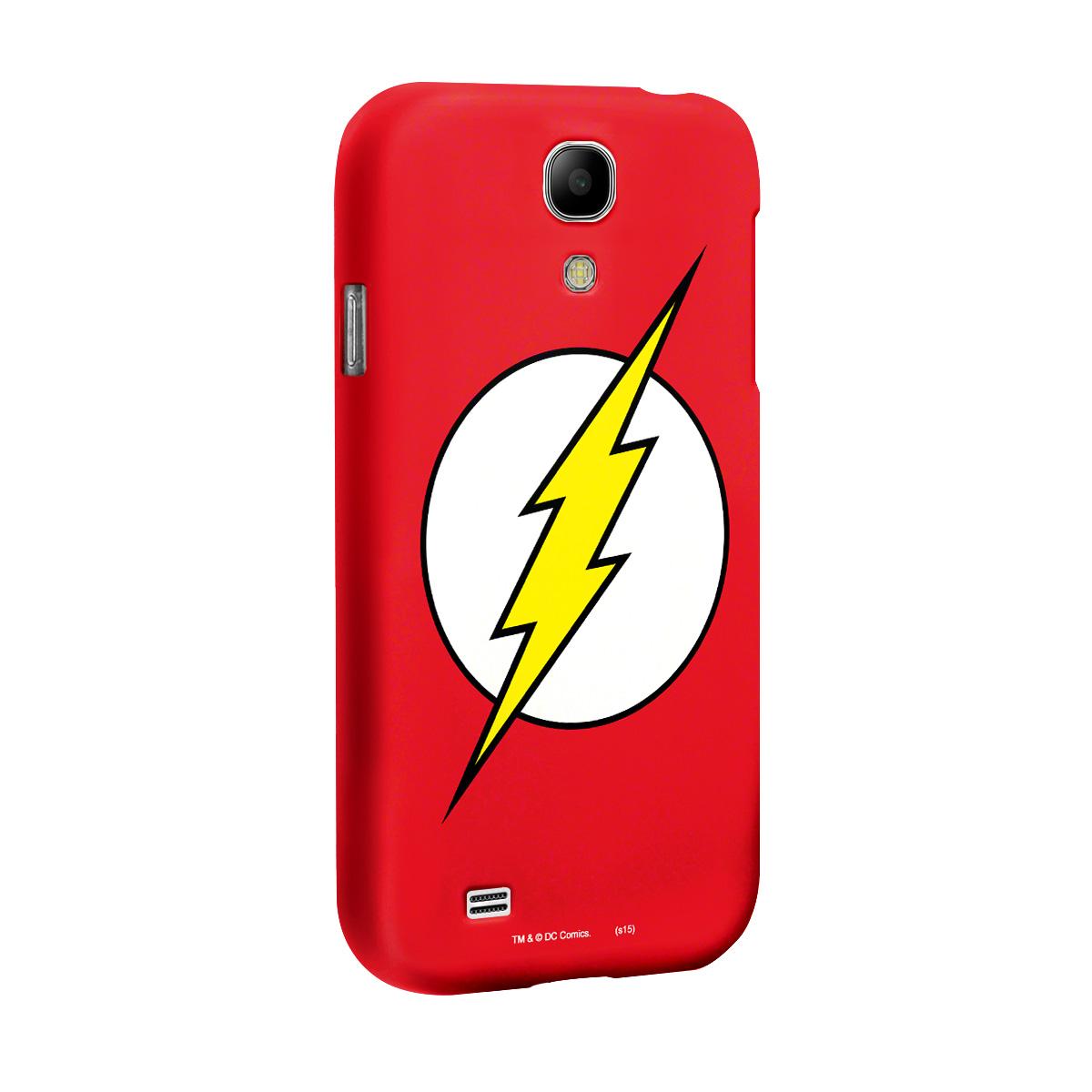 Capa para Samsung Galaxy S4 The Flash Logo