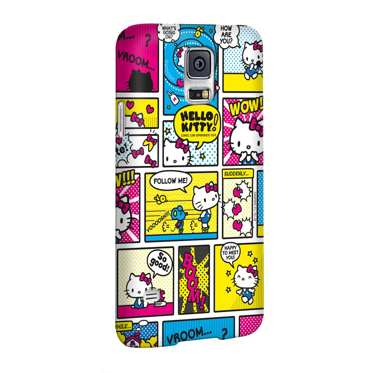 Capa para Samsung Galaxy S5 Hello Kitty Comic Con HQ