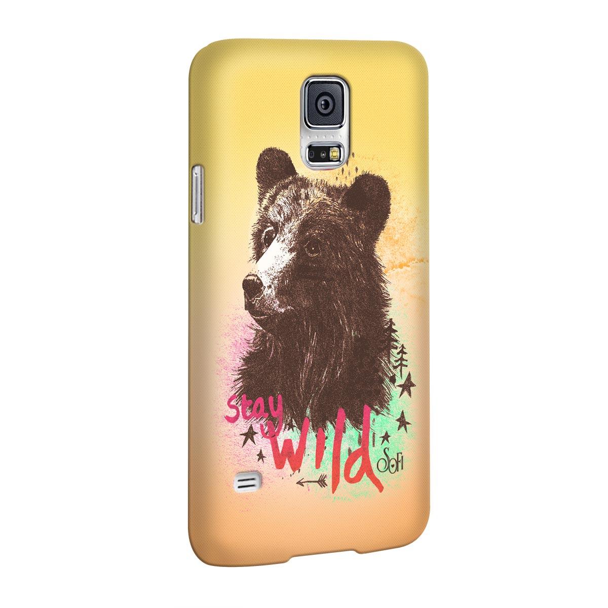 Capa para Samsung Galaxy S5 Sofia Oliveira Stay Wild
