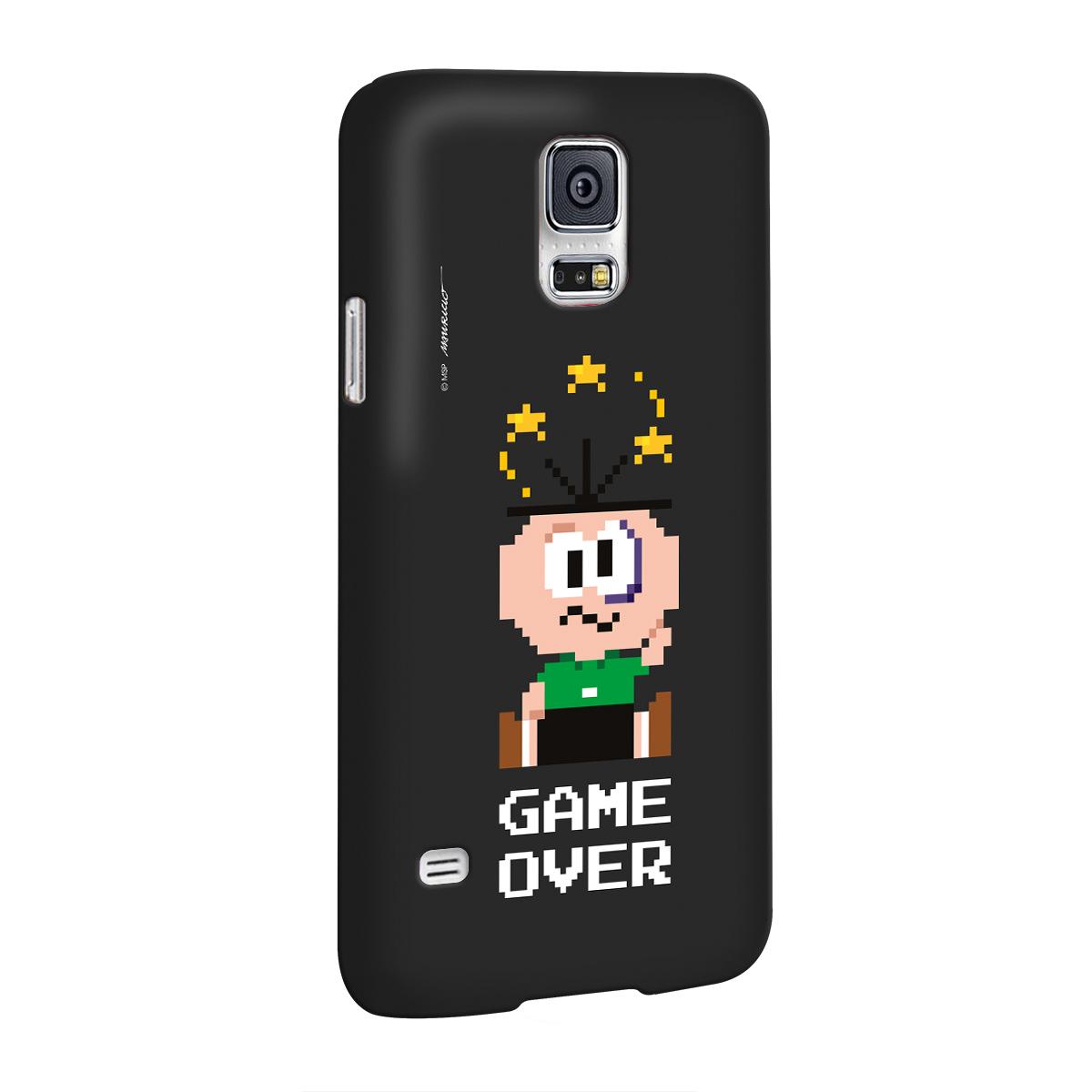 Capa para Samsung Galaxy S5 Turma da Mônica Cebolinha Game Over