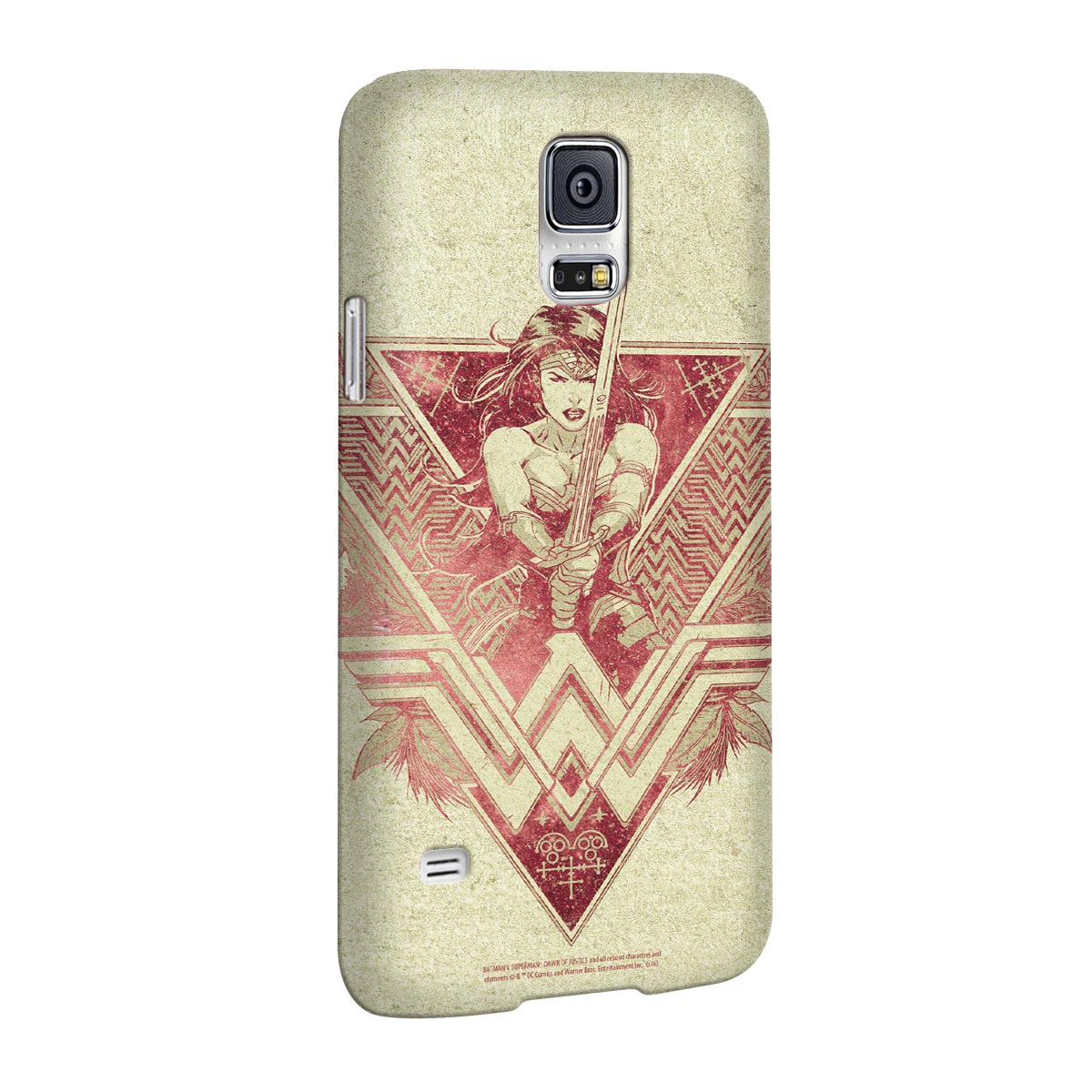 Capa para Samsung Galaxy S5 Wonder Woman Warrior