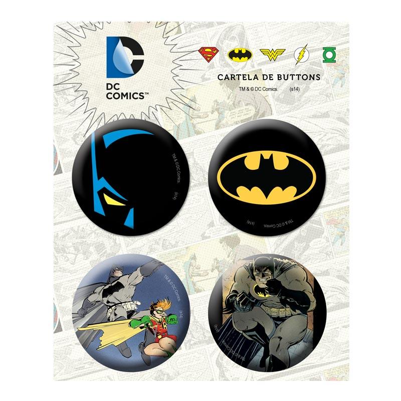 Cartela de Buttons Batman