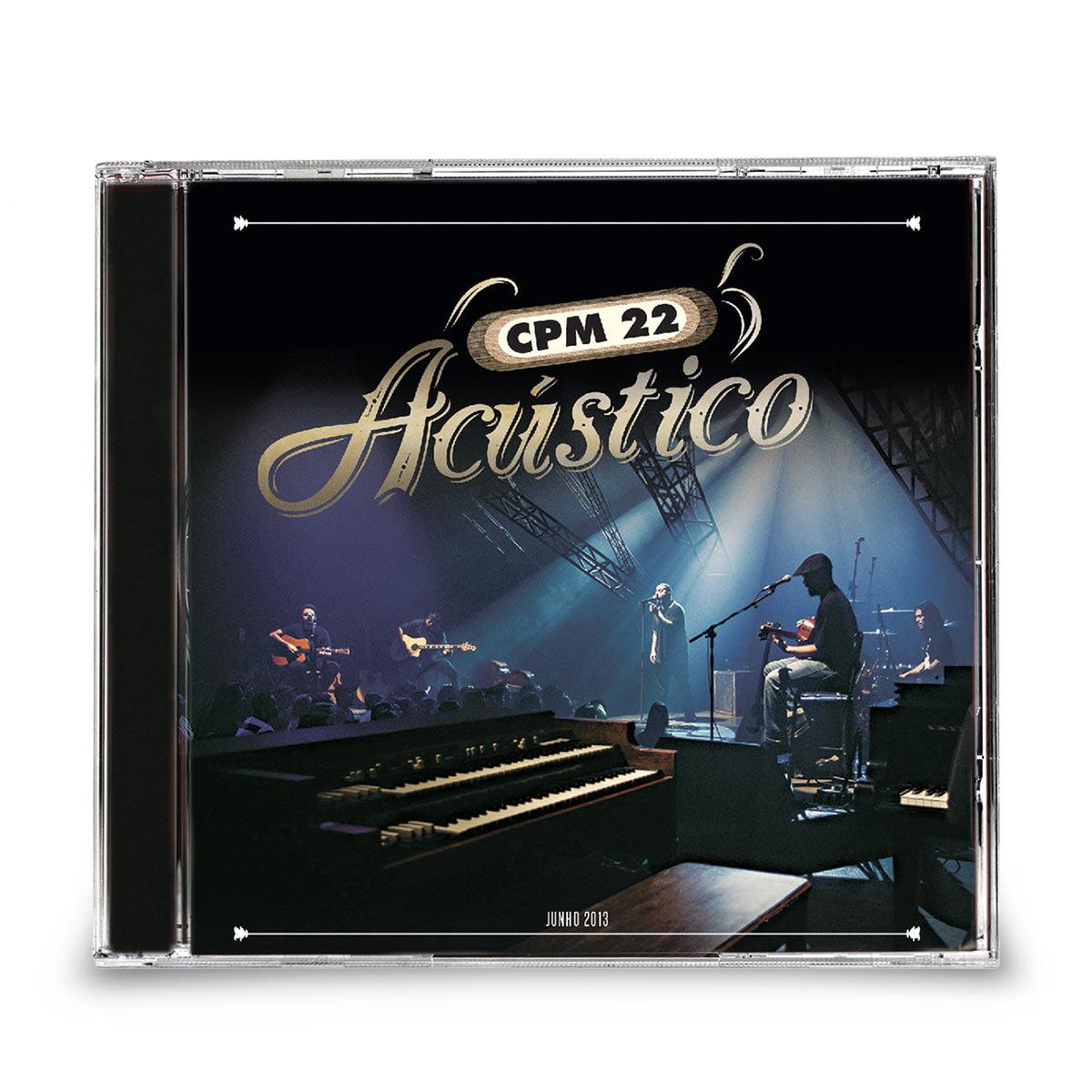 CD CPM 22 Acústico