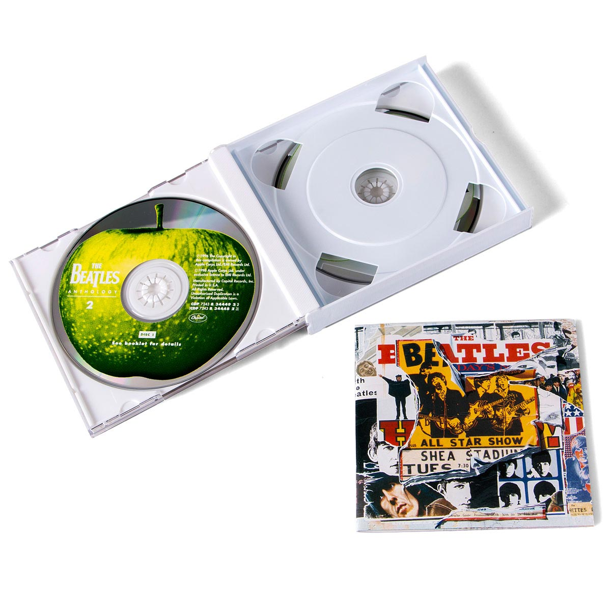 Produto IMPORTADO CD Duplo The Beatles - Anthology II