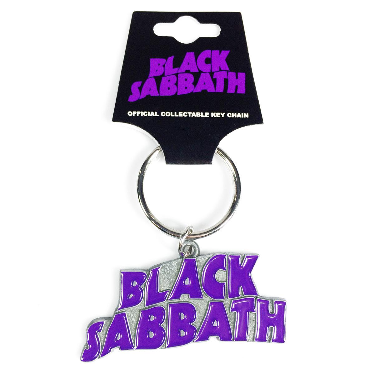 Chaveiro de Metal Black Sabbath Logo