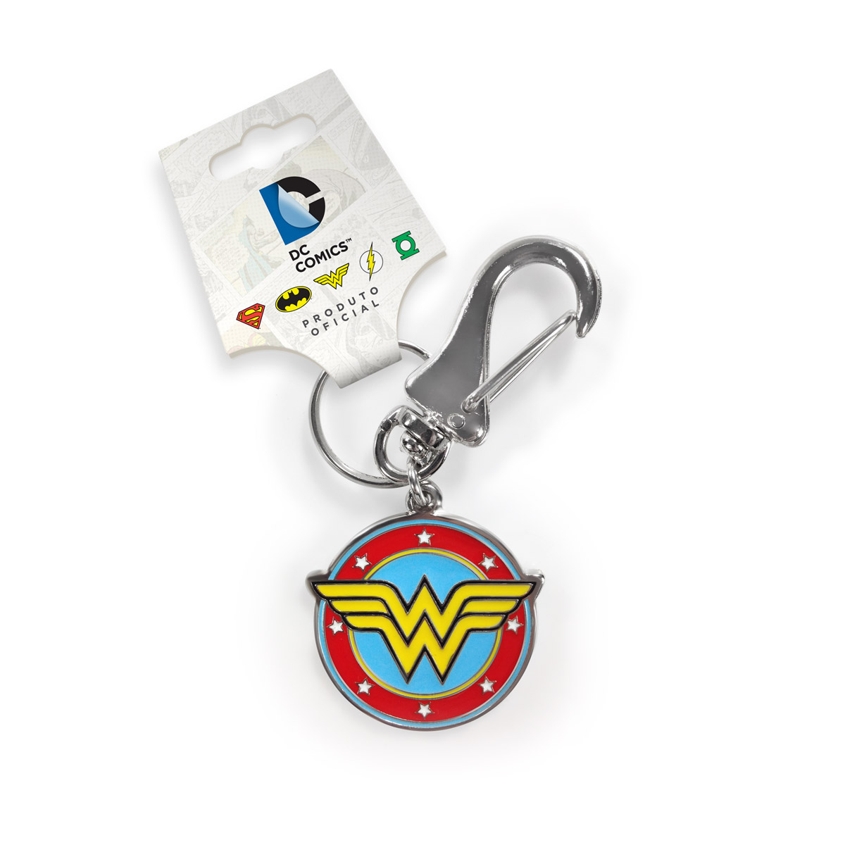 Chaveiro de Metal Power Girls Wonder Woman