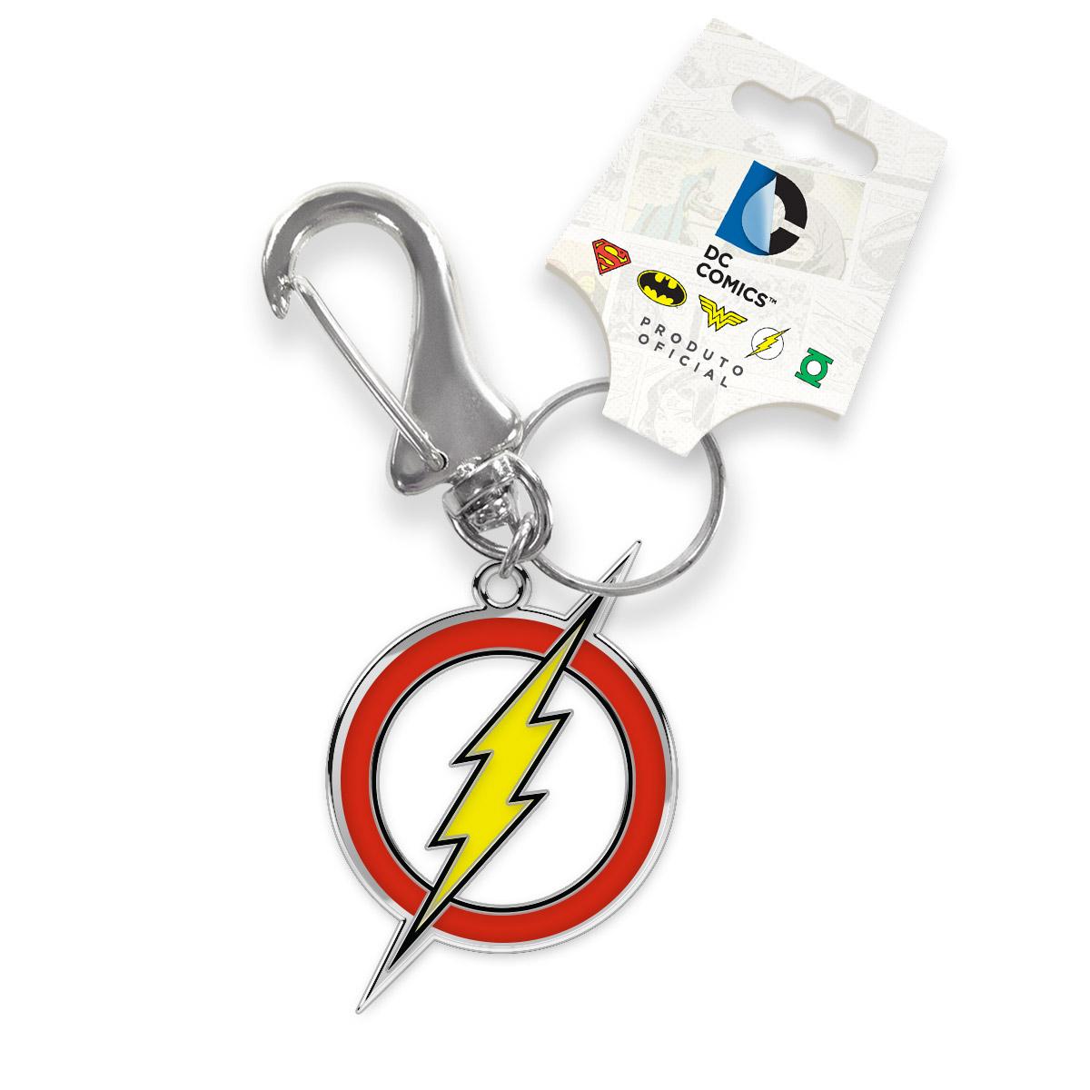 Chaveiro de Metal The Flash Logo