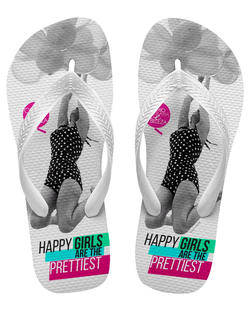 Chinelo Masculino QeB Happy Girls