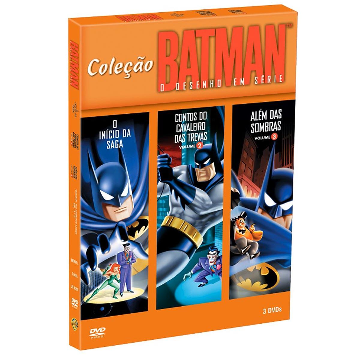 Coleção de DVDs Batman: O Desenho em Série