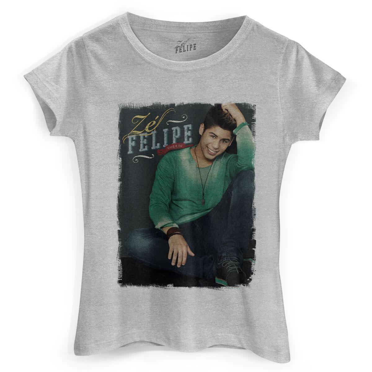 Combo CD AUTOGRAFADO Zé Felipe Você e Eu + Camiseta Feminina