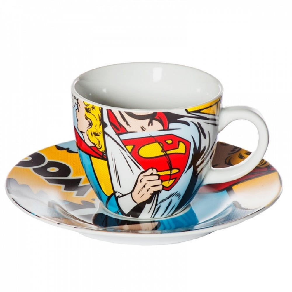 Conjunto de Xícaras Superman