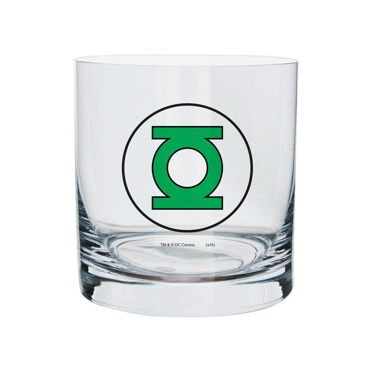 Copo Para Whisky Lanterna Verde Logo