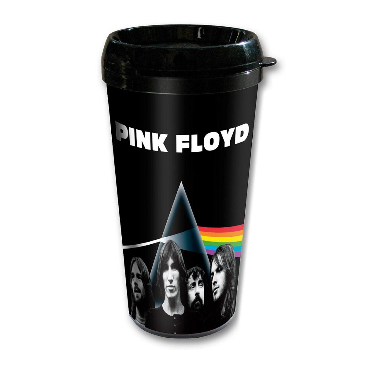 Copo Plástico com Tampa 89 FM A Rádio Rock Pink Floyd Prism