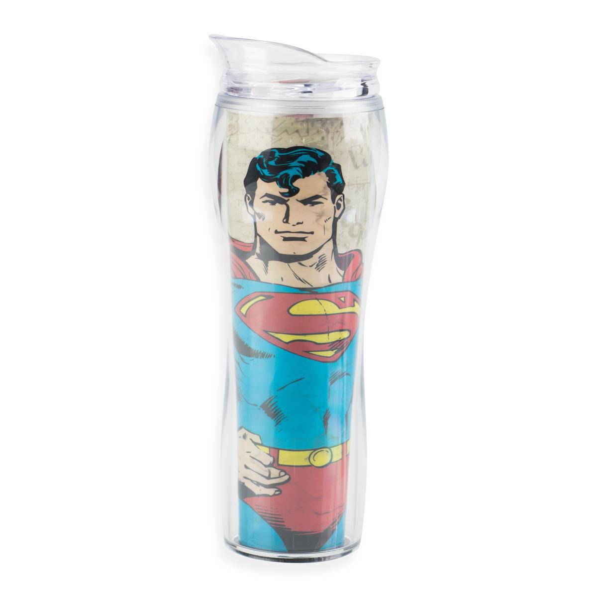Copo de Acrílico Superman Force