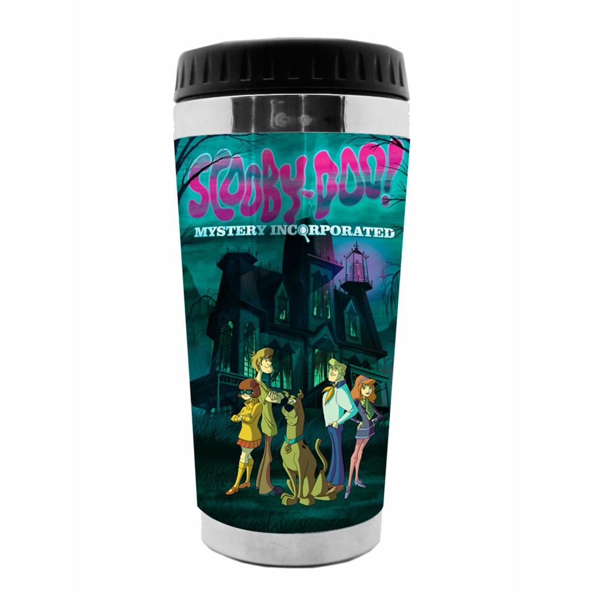 Copo Térmico Scooby-Doo na Casa Assombrada