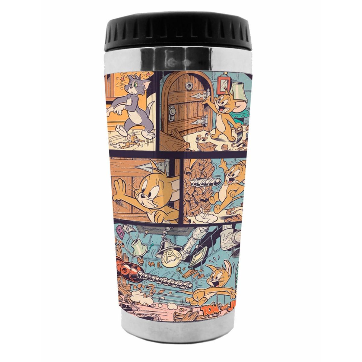 Copo Térmico Tom e Jerry Comics