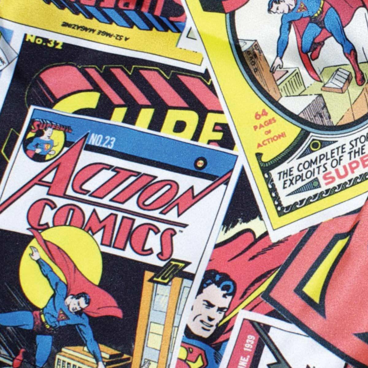 Cueca Samba Canção DC Comics Cartoon Supeman