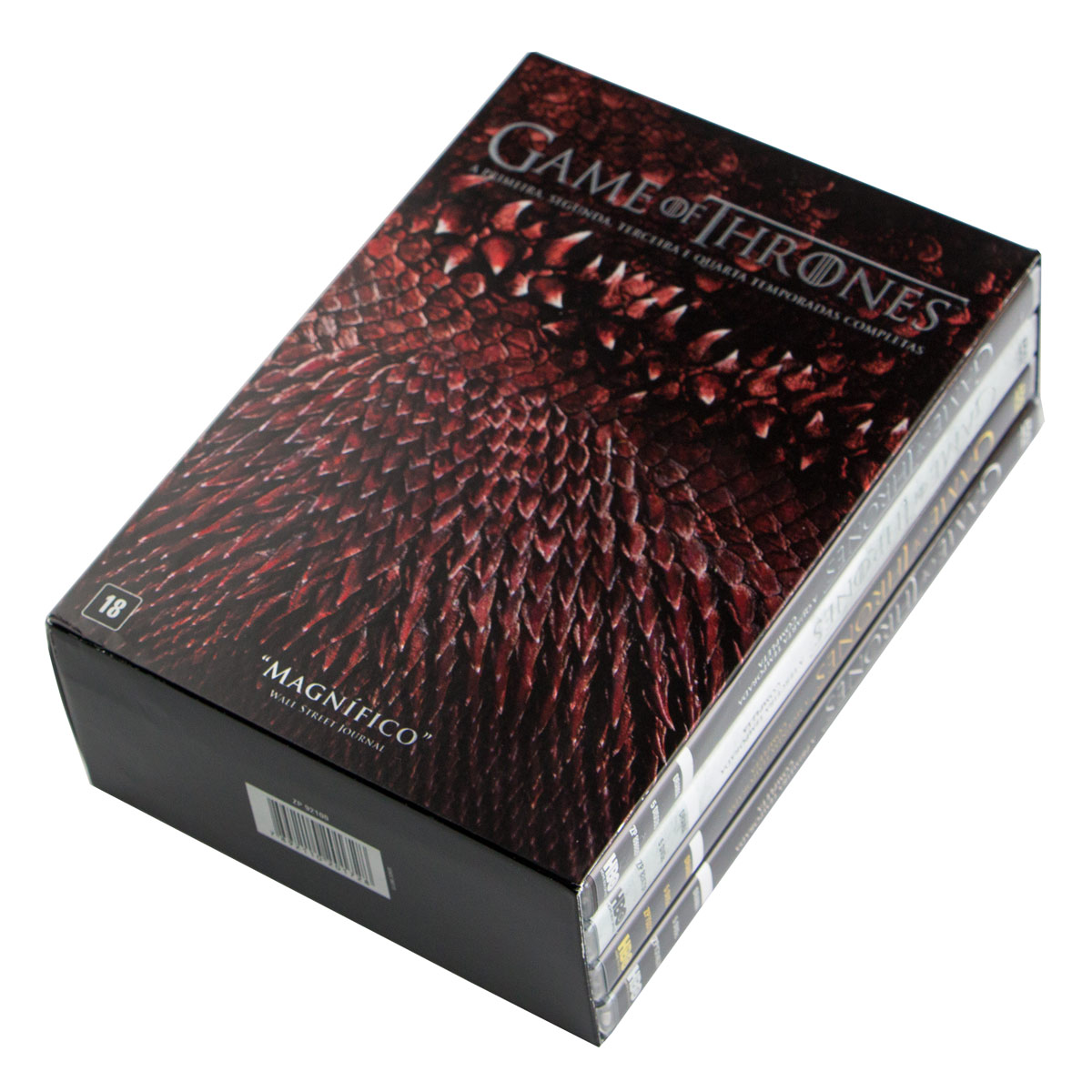 DVD Box Game Of Thrones - 1ª a 4ª Temporada - 20 Discos