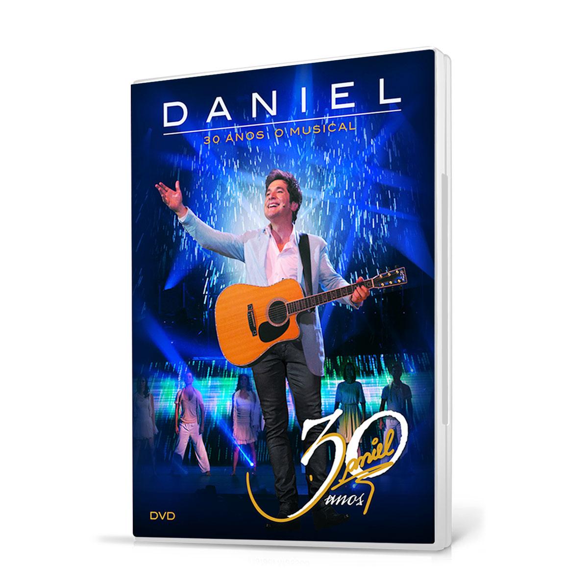 DVD Daniel 30 Anos O Musical