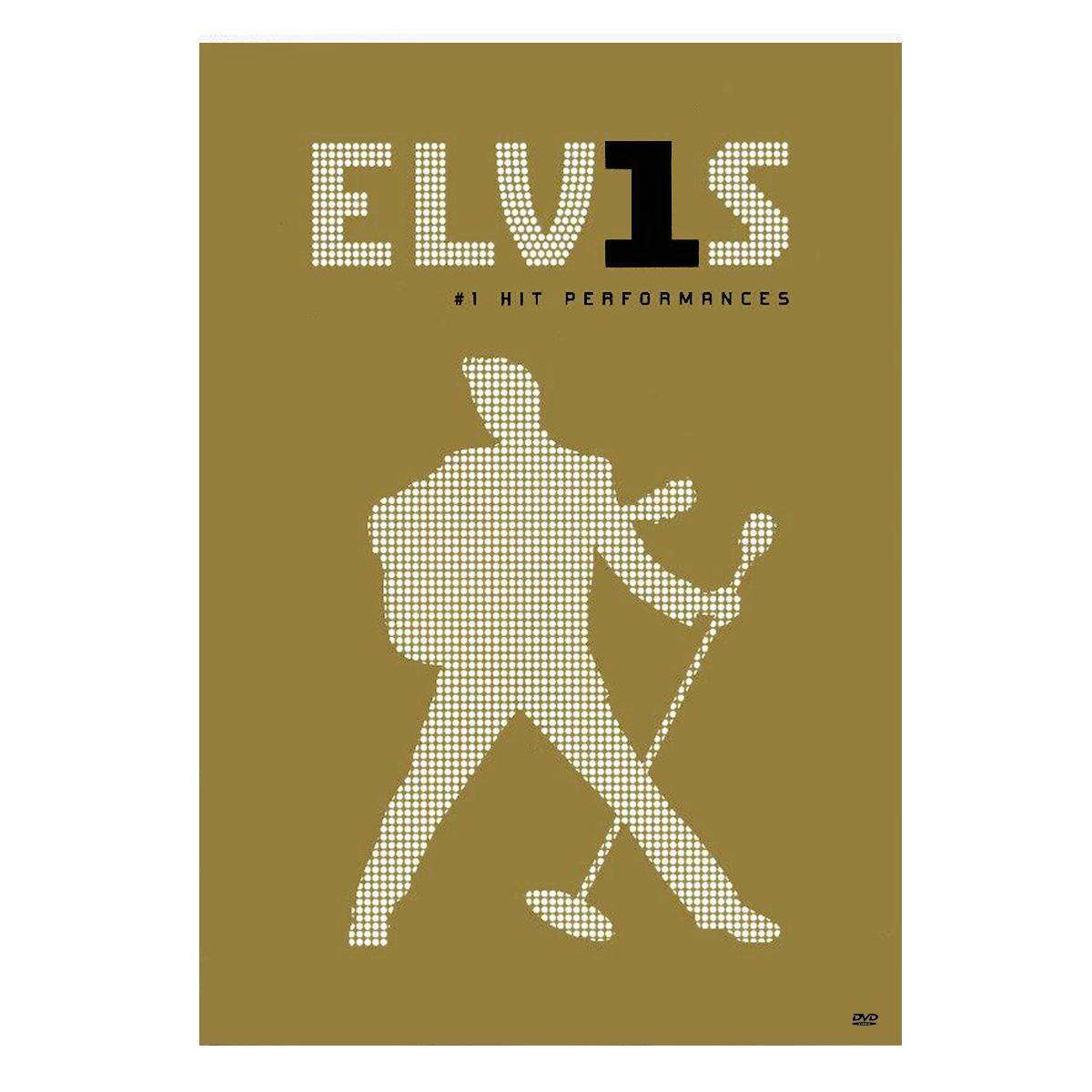 DVD Elvis - 1 Hit Performances