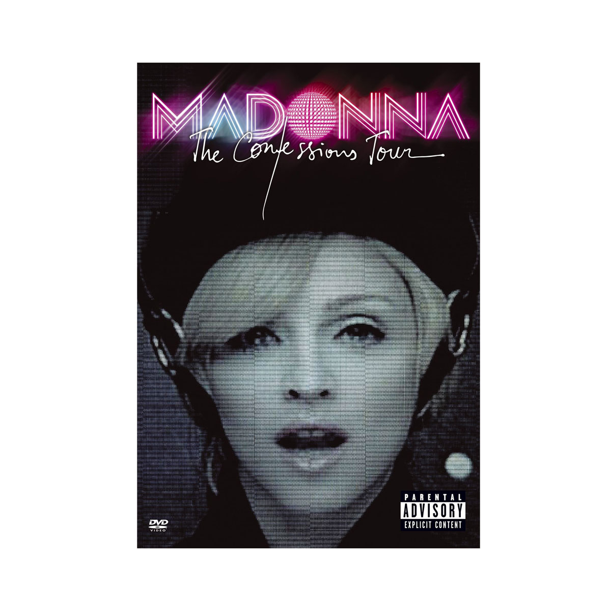 DVD Madonna The Confessions Tour