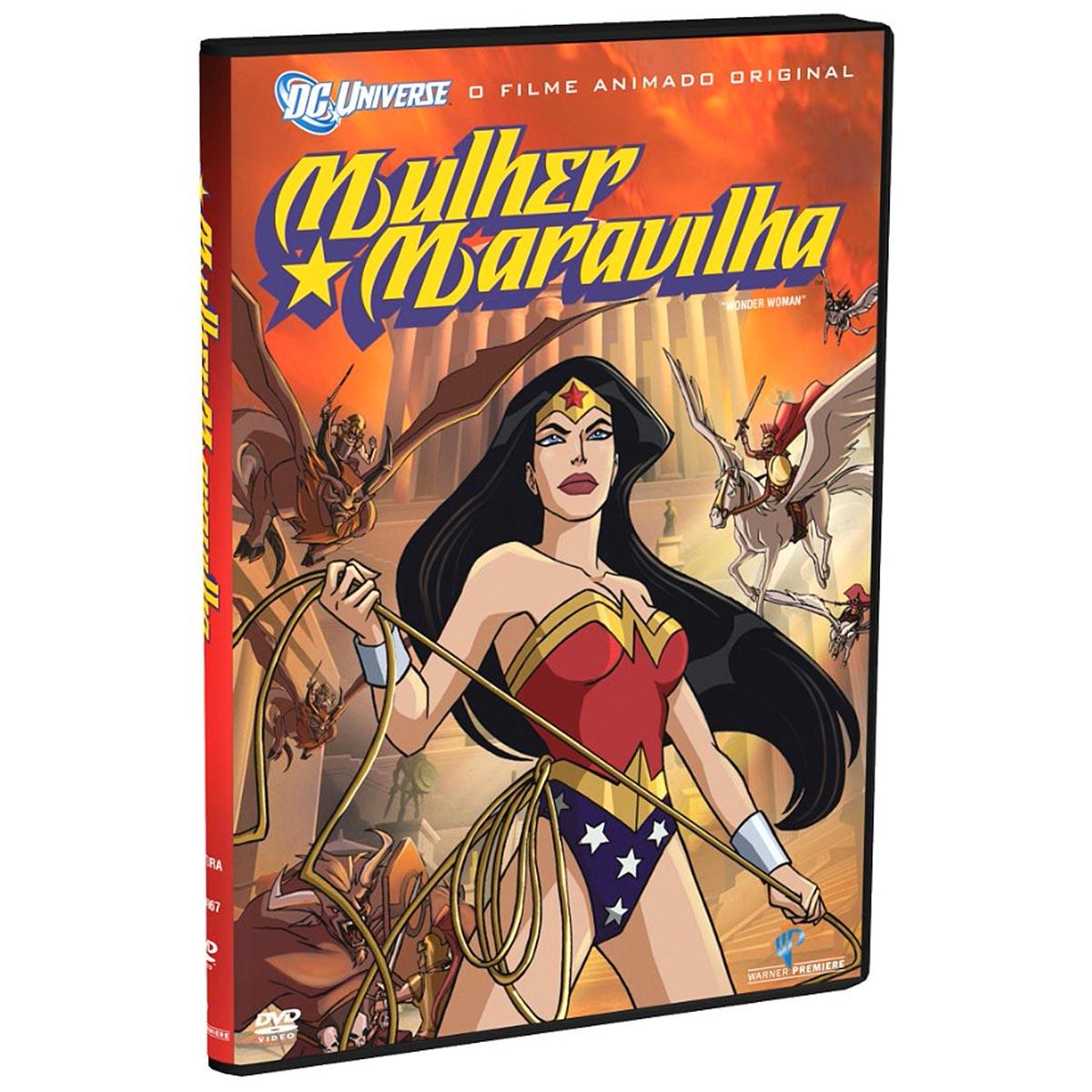 DVD Mulher Maravilha