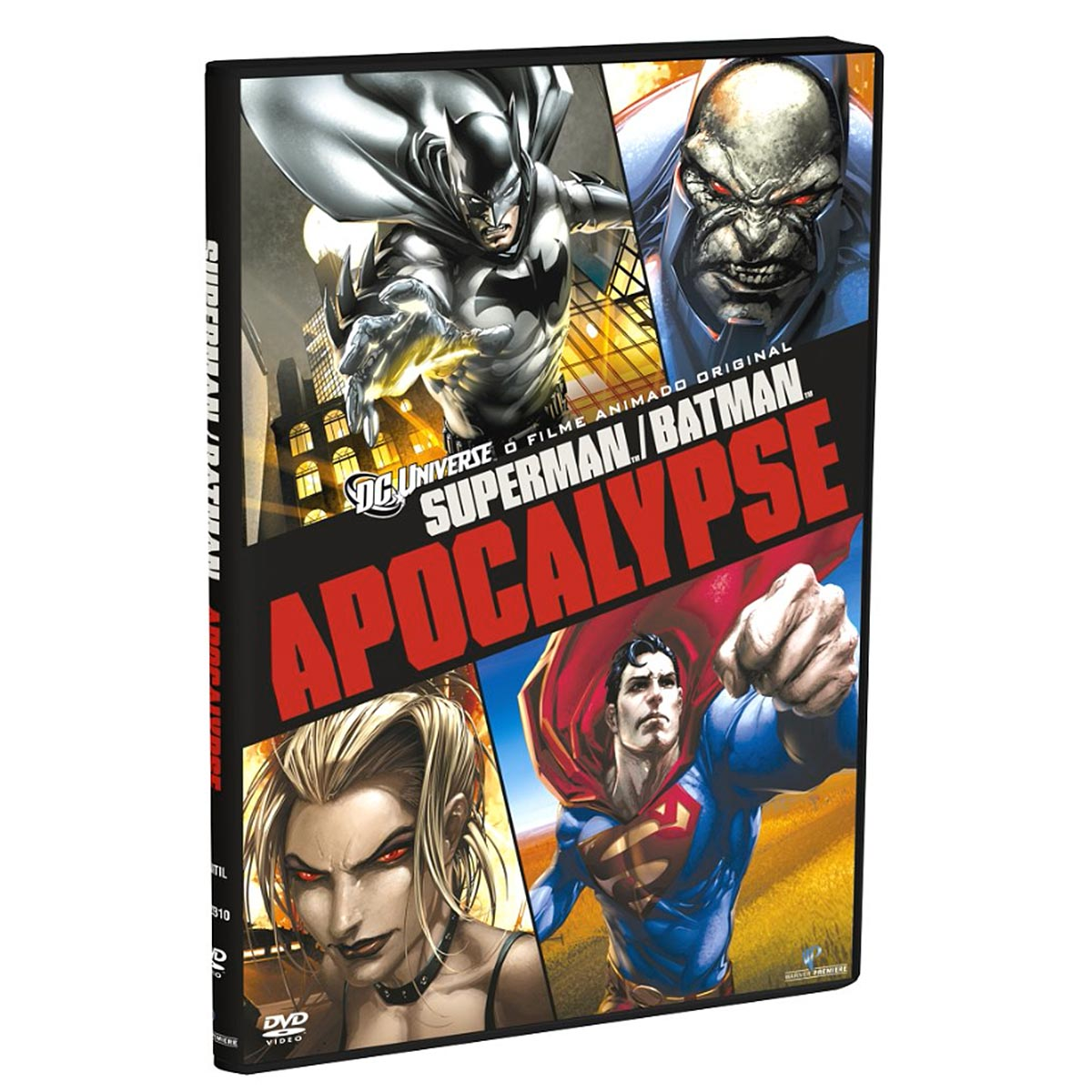 DVD Superman e Batman: Apocalypse