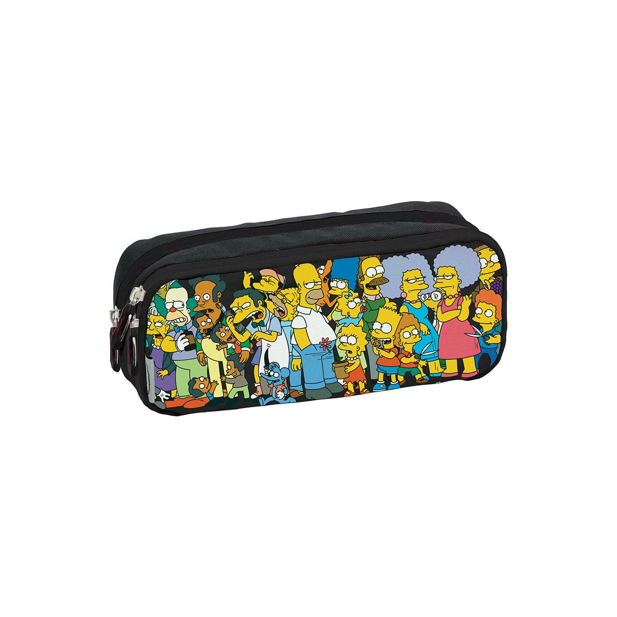 Estojo Duplo The Simpsons Springfield 740054