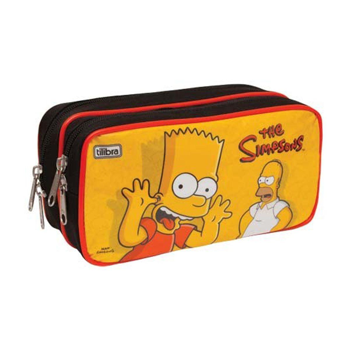 Estojo Duplo The Simpsons Bart