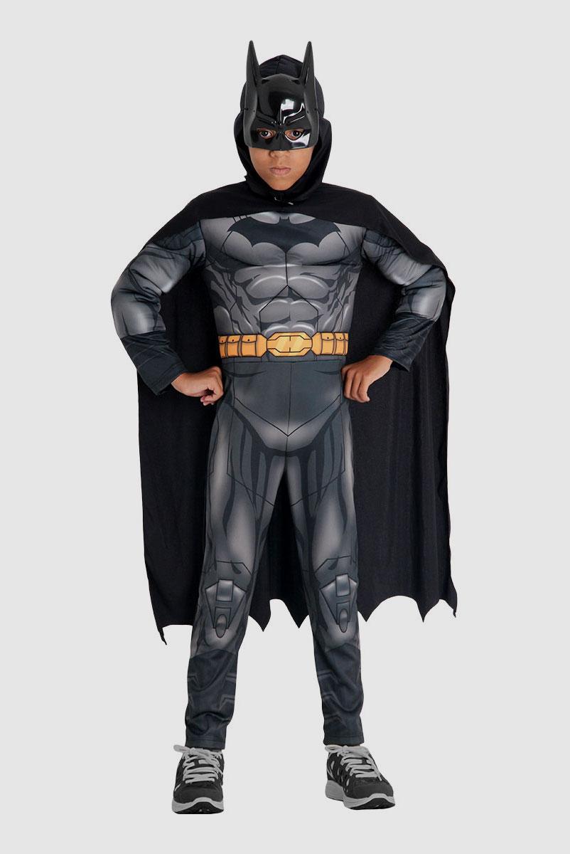 Fantasia Infantil Batman Premium na Lata
