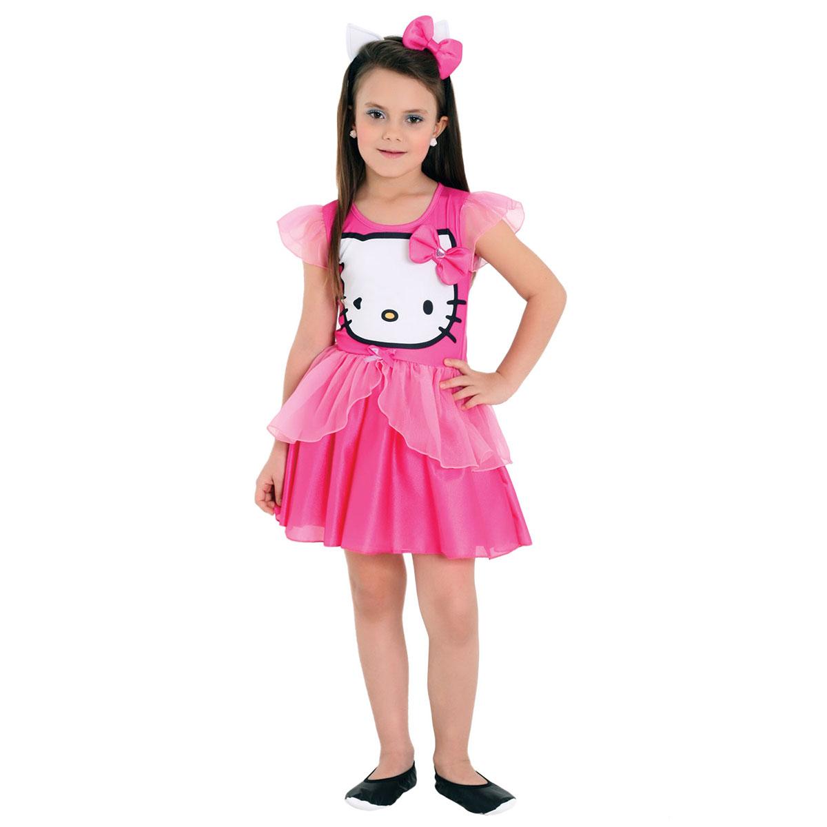 Fantasia Infantil Hello Kitty