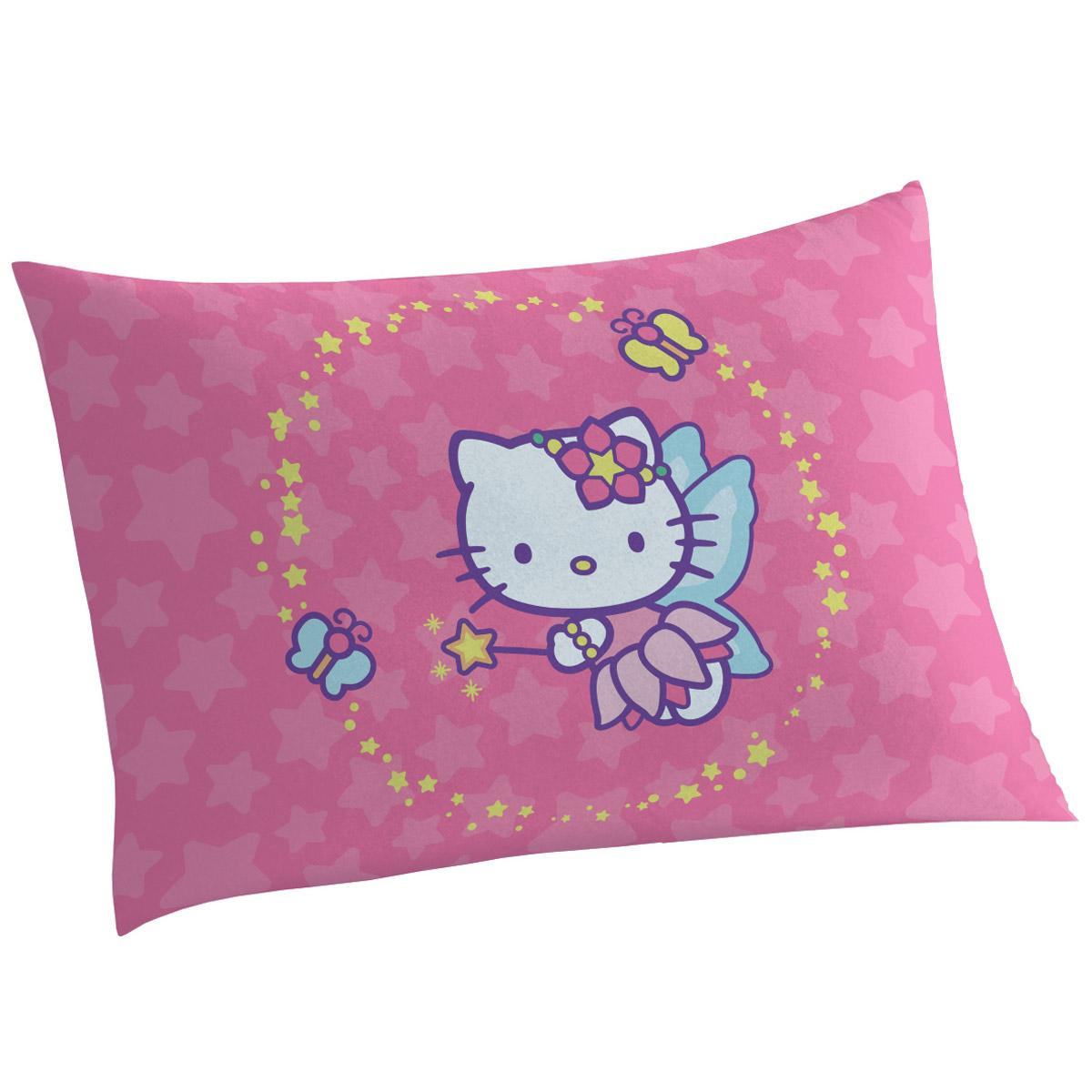 Fronha que Brilha no Escuro Hello Kitty Fada