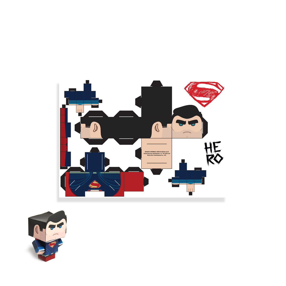 Gift Box DC Comics Projetor Batman Vs Superman