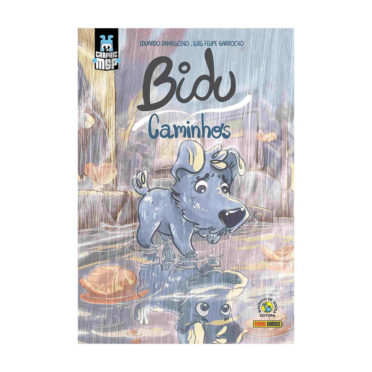 Graphic Novel Bidu Caminhos