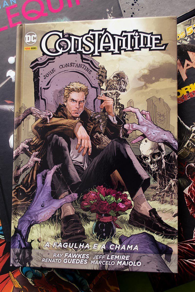 Graphic Novel Constantine: A Fagulha e a Chama