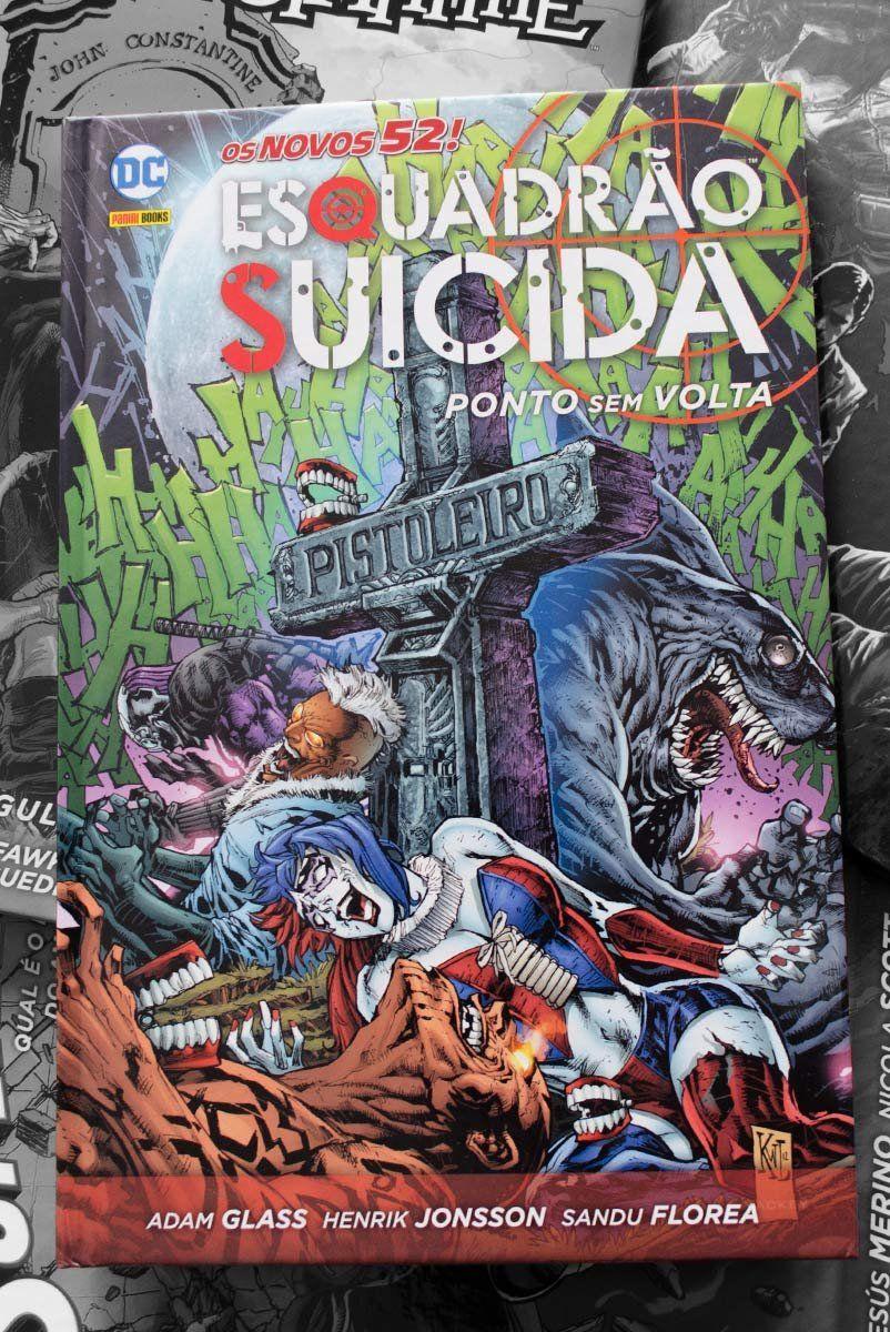 Graphic Novel Esquadrão Suicida: Ponto Sem Volta