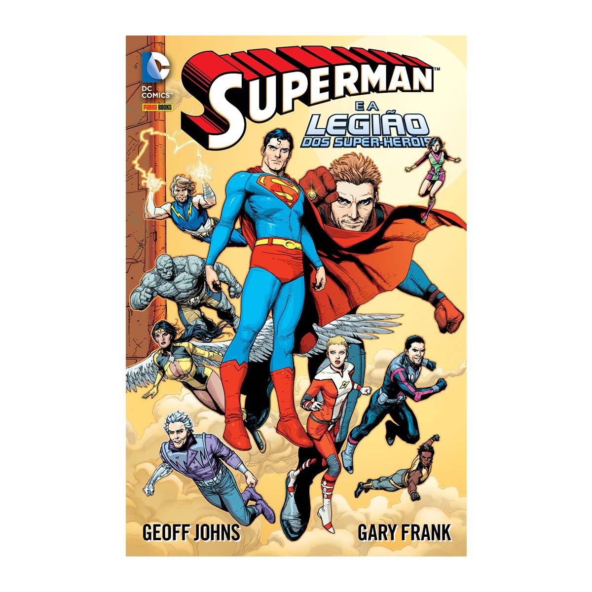 Graphic Novel Superman e a Legião dos Super-Heróis