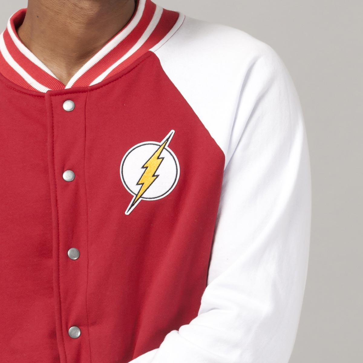 Jaqueta Bomber The Flash Central City