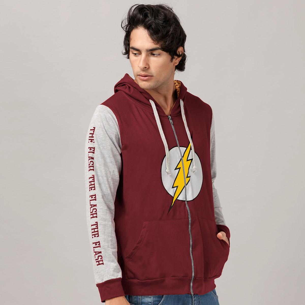 Jaqueta The Flash Logo