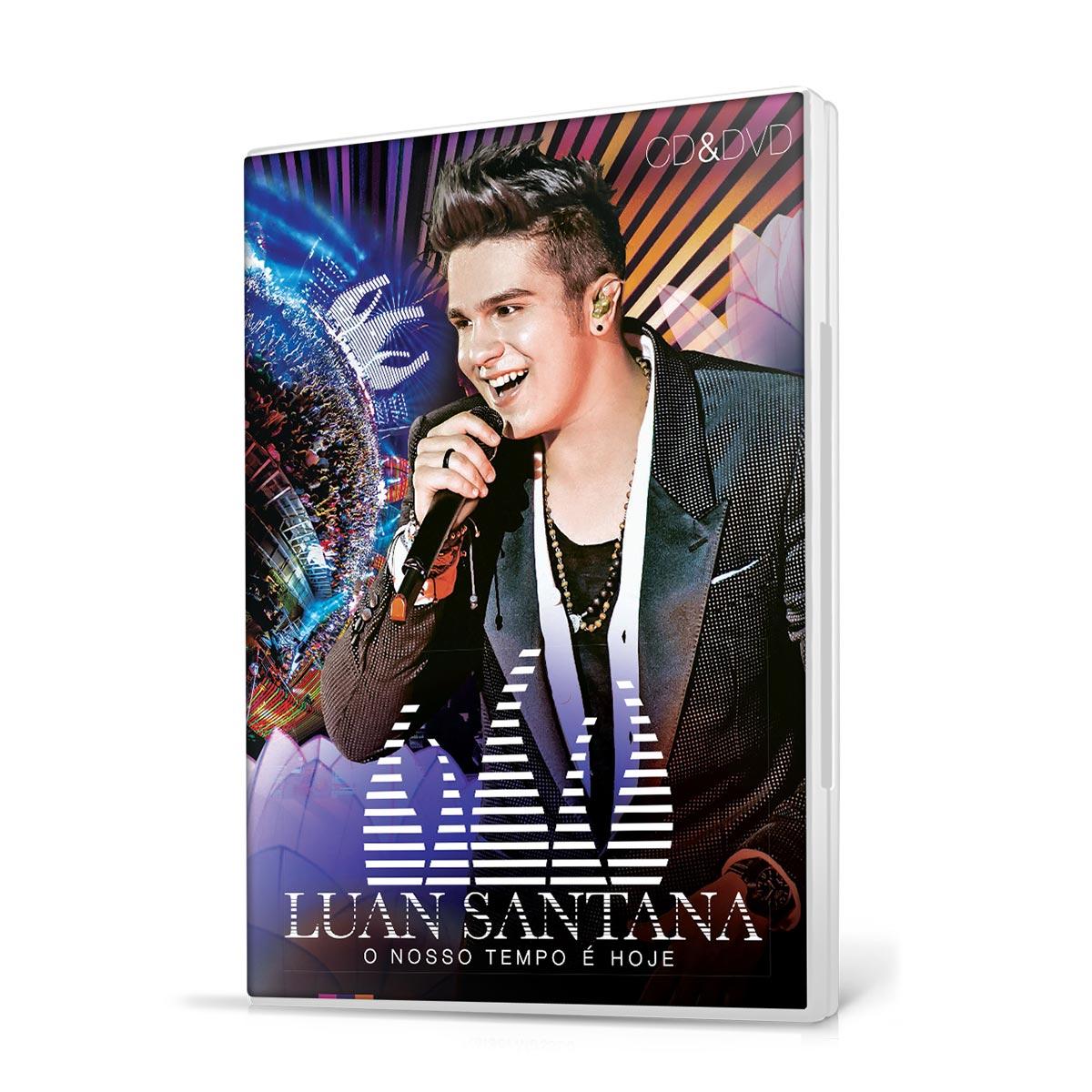 KIT CD+DVD Luan Santana O Nosso Tempo é Hoje